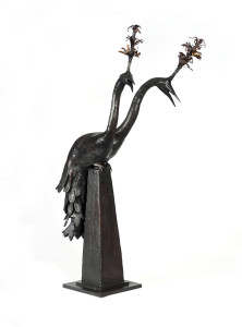 James_Mortimer_Two_Headed_Peacock_Bronze (2)